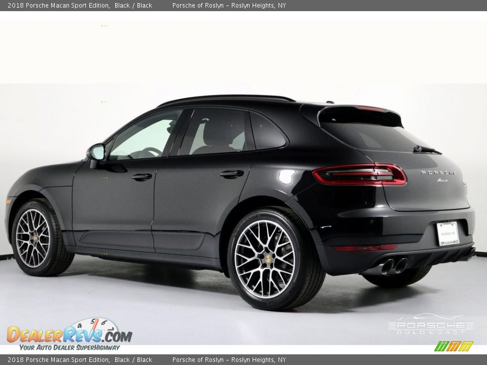 2018 Porsche Macan Sport Edition Black / Black Photo #4
