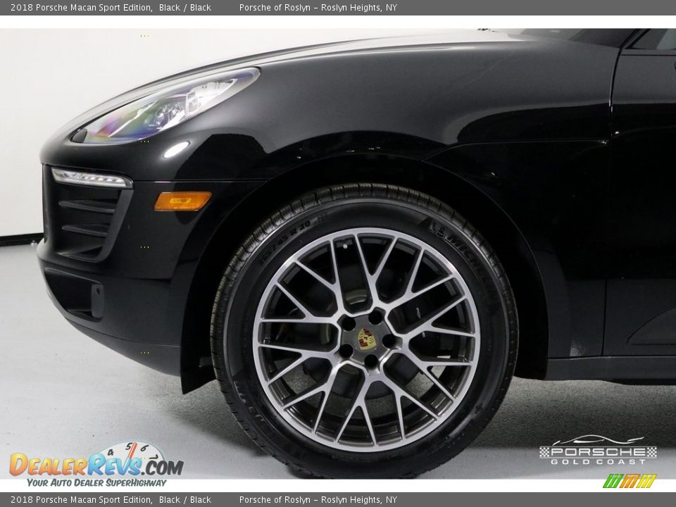 2018 Porsche Macan Sport Edition Black / Black Photo #11