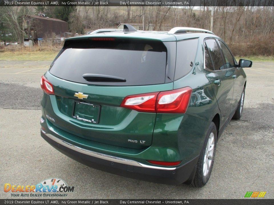 2019 Chevrolet Equinox LT AWD Ivy Green Metallic / Jet Black Photo #4