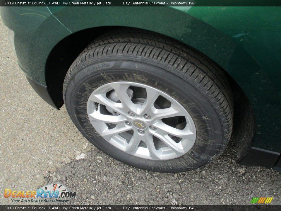 2019 Chevrolet Equinox LT AWD Ivy Green Metallic / Jet Black Photo #8