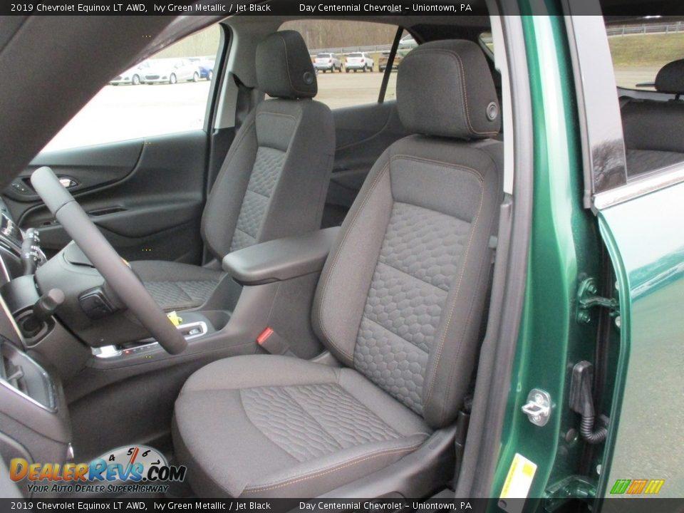 2019 Chevrolet Equinox LT AWD Ivy Green Metallic / Jet Black Photo #12
