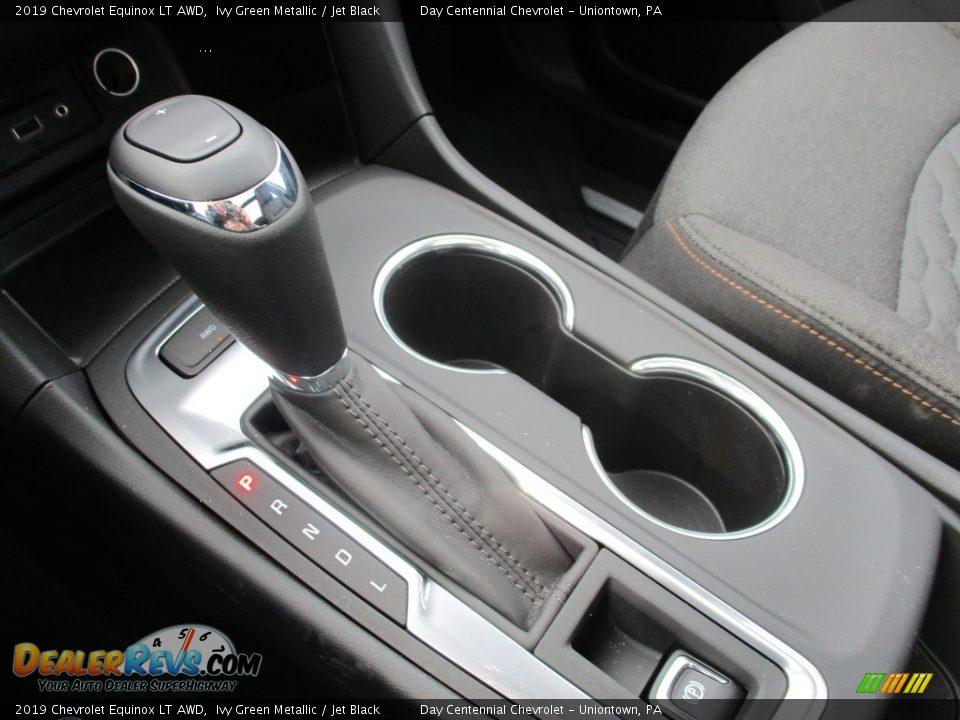 2019 Chevrolet Equinox LT AWD Ivy Green Metallic / Jet Black Photo #15