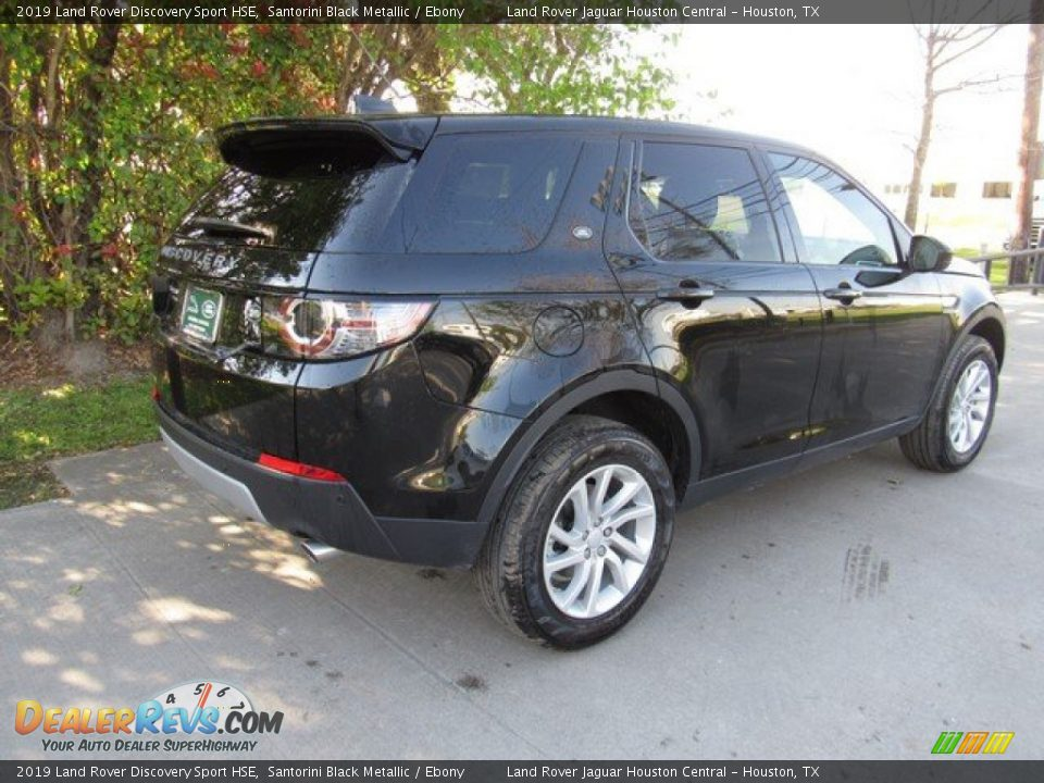 2019 Land Rover Discovery Sport HSE Santorini Black Metallic / Ebony Photo #7