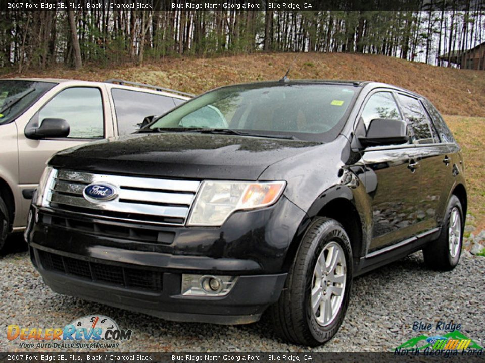 2007 Ford Edge SEL Plus Black / Charcoal Black Photo #1
