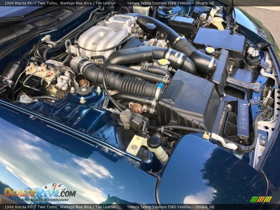 1994 Mazda RX-7 Twin Turbo 1.3 Liter Twin-Turbocharged Rotary Engine Photo #9
