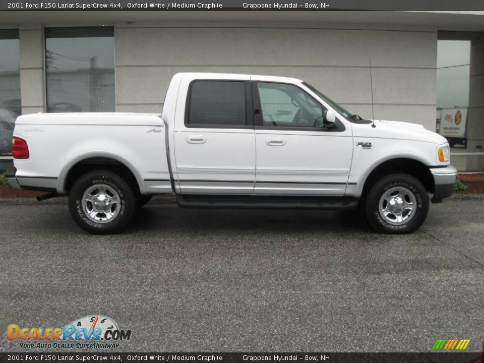 2001 ford f150 lariat supercrew 4x4 oxford white medium graphite. Cars Review. Best American Auto & Cars Review