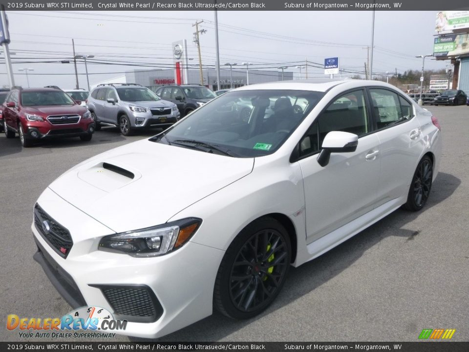 Crystal White Pearl 2019 Subaru WRX STI Limited Photo #8
