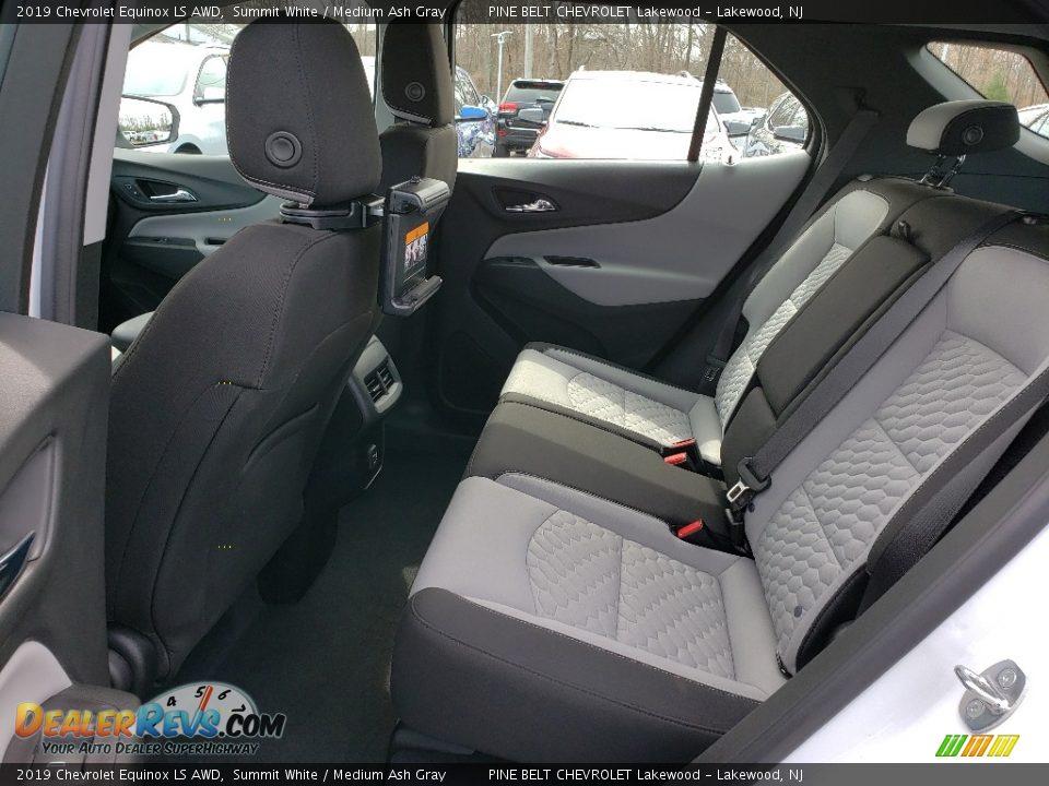 2019 Chevrolet Equinox LS AWD Summit White / Medium Ash Gray Photo #6