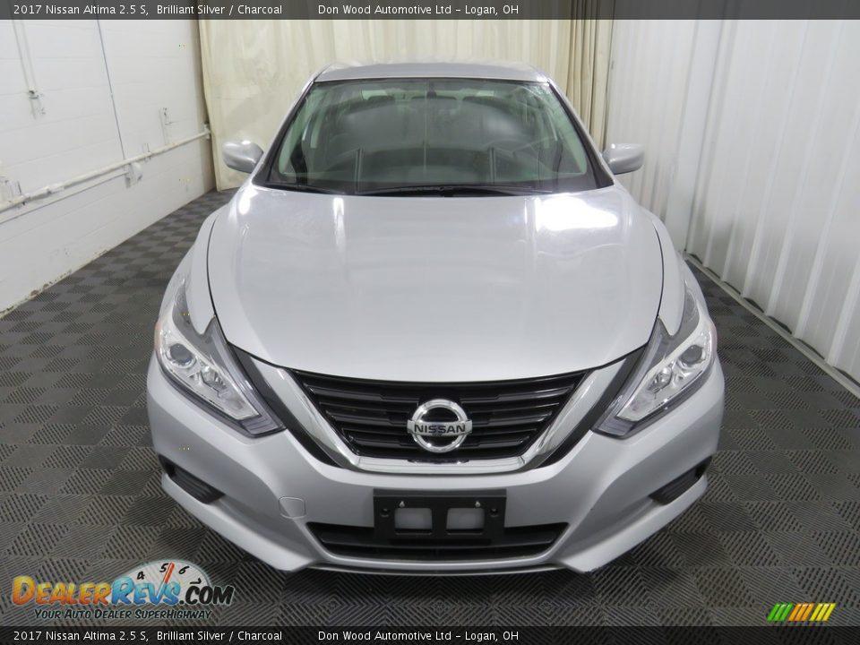 2017 Nissan Altima 2.5 S Brilliant Silver / Charcoal Photo #5