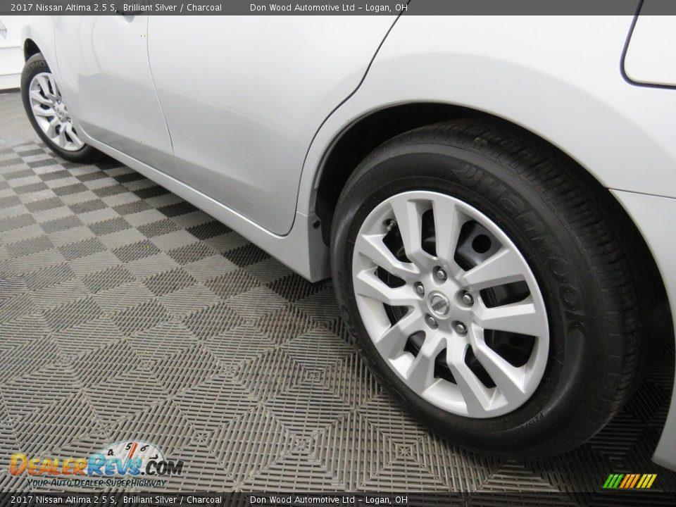 2017 Nissan Altima 2.5 S Brilliant Silver / Charcoal Photo #10