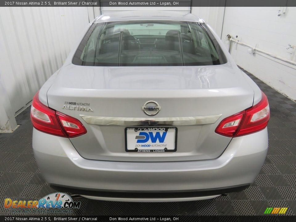 2017 Nissan Altima 2.5 S Brilliant Silver / Charcoal Photo #12