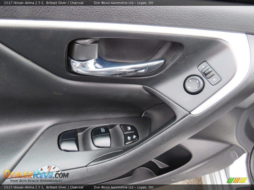 2017 Nissan Altima 2.5 S Brilliant Silver / Charcoal Photo #17