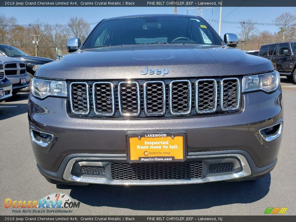 2019 Jeep Grand Cherokee Limited 4x4 Granite Crystal Metallic / Black Photo #2