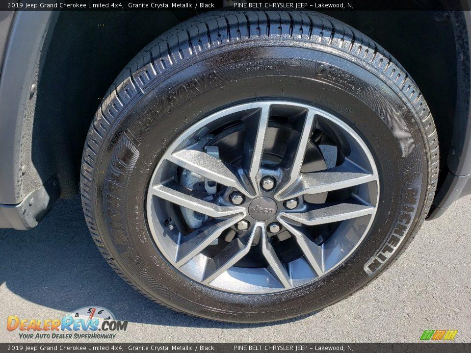 2019 Jeep Grand Cherokee Limited 4x4 Granite Crystal Metallic / Black Photo #9