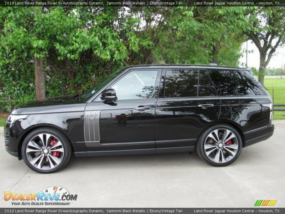 Santorini Black Metallic 2019 Land Rover Range Rover SVAutobiography Dynamic Photo #11