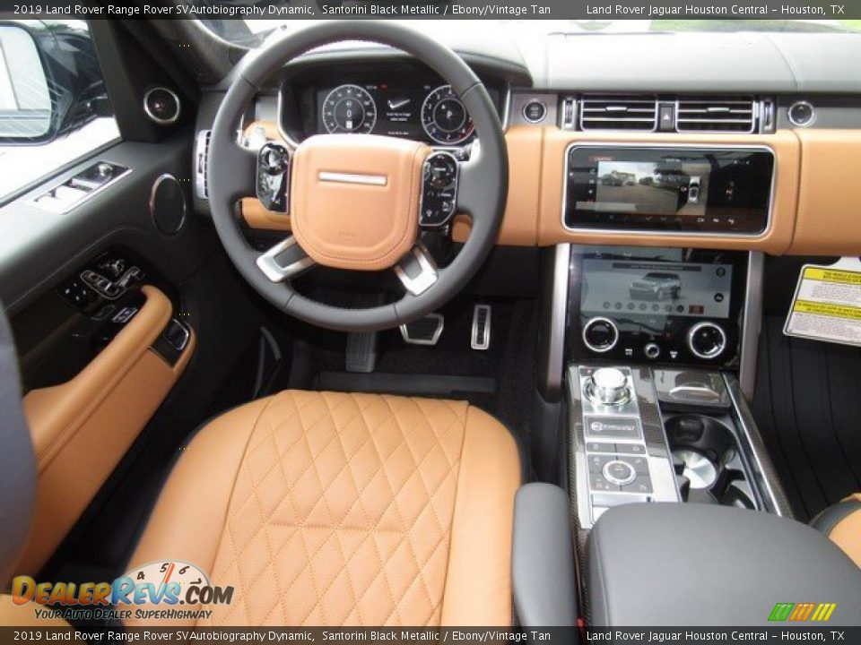 Dashboard of 2019 Land Rover Range Rover SVAutobiography Dynamic Photo #14