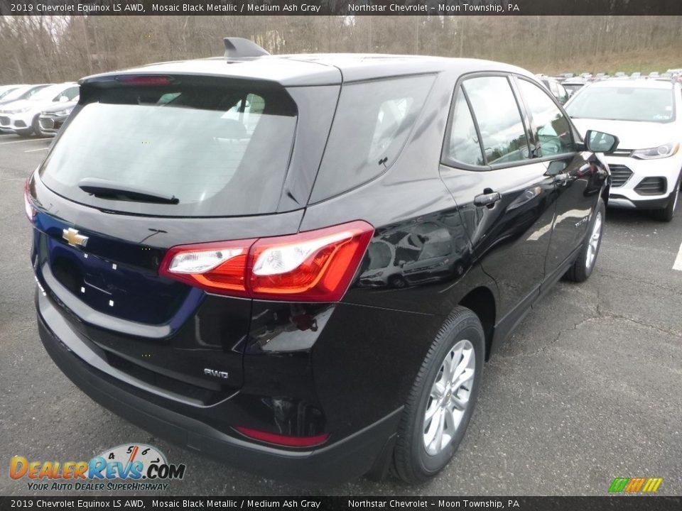 2019 Chevrolet Equinox LS AWD Mosaic Black Metallic / Medium Ash Gray Photo #6