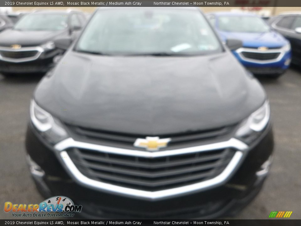 2019 Chevrolet Equinox LS AWD Mosaic Black Metallic / Medium Ash Gray Photo #9