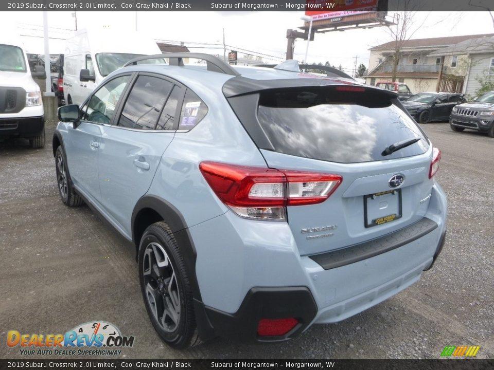 2019 Subaru Crosstrek 2.0i Limited Cool Gray Khaki / Black Photo #6