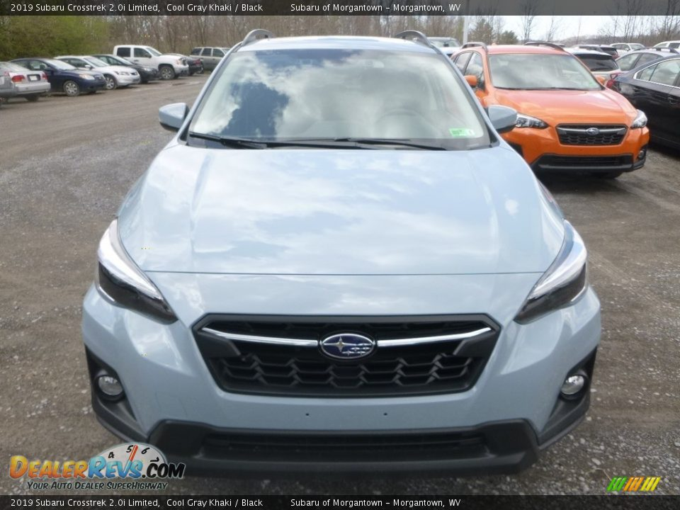 2019 Subaru Crosstrek 2.0i Limited Cool Gray Khaki / Black Photo #9