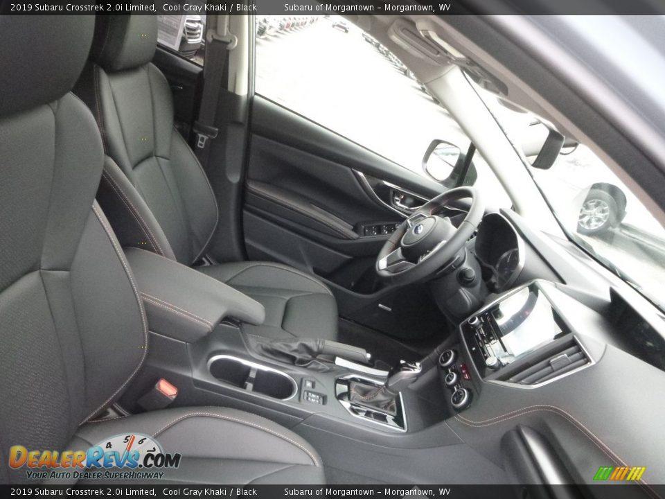 2019 Subaru Crosstrek 2.0i Limited Cool Gray Khaki / Black Photo #10