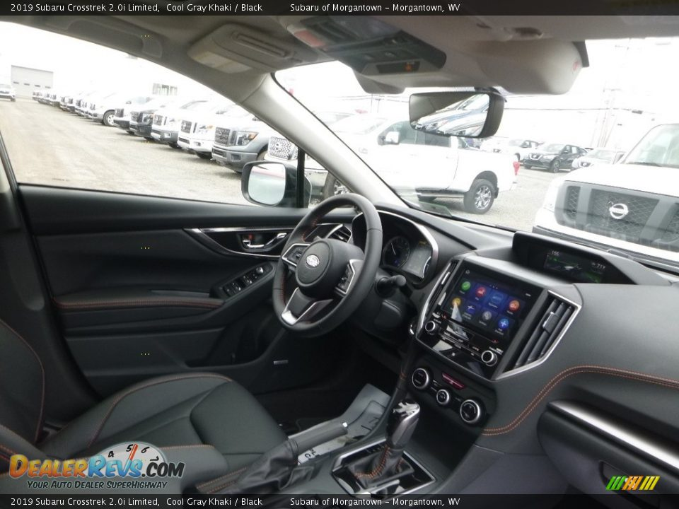 2019 Subaru Crosstrek 2.0i Limited Cool Gray Khaki / Black Photo #11