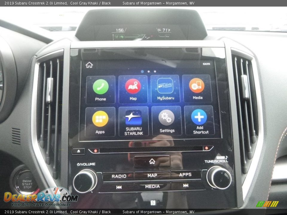 2019 Subaru Crosstrek 2.0i Limited Cool Gray Khaki / Black Photo #17
