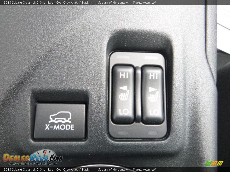 2019 Subaru Crosstrek 2.0i Limited Cool Gray Khaki / Black Photo #19