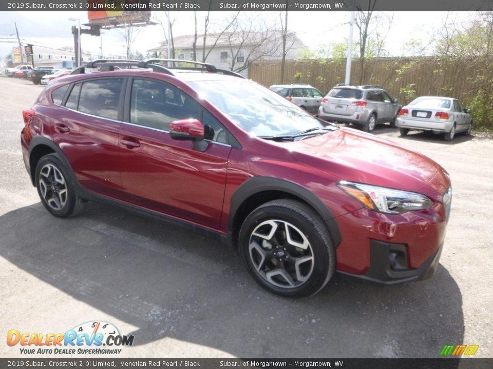 2019 Subaru Crosstrek 2.0i Limited Venetian Red Pearl / Black Photo #1