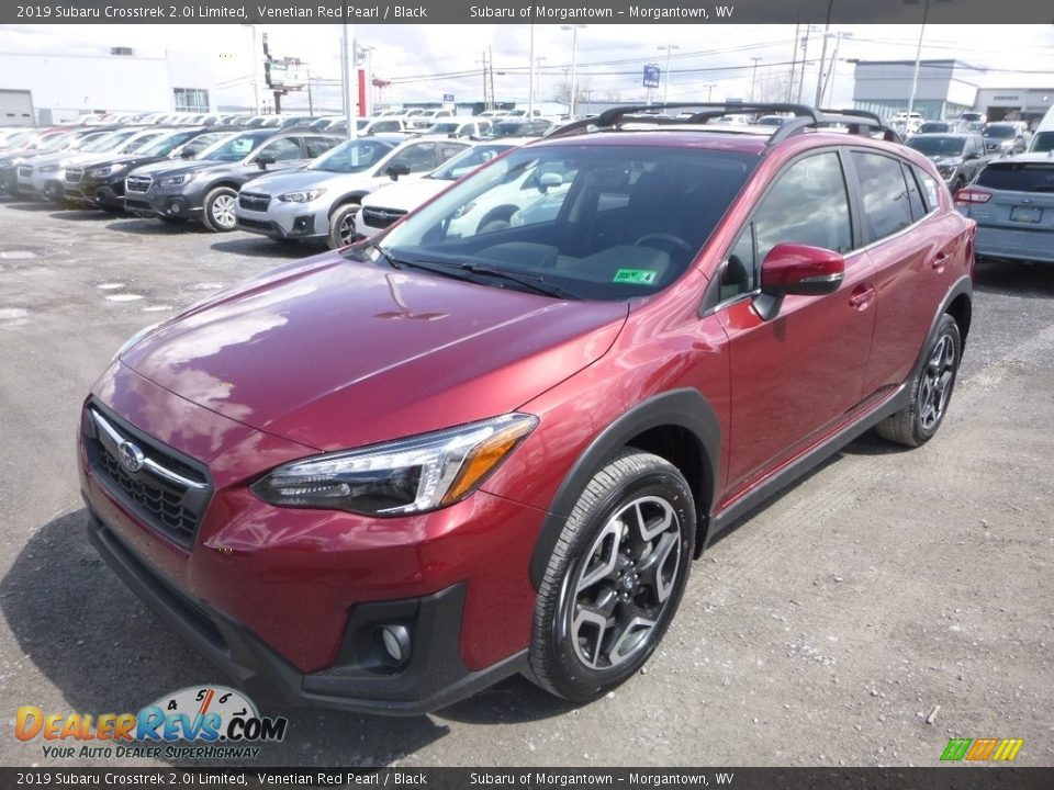 2019 Subaru Crosstrek 2.0i Limited Venetian Red Pearl / Black Photo #8