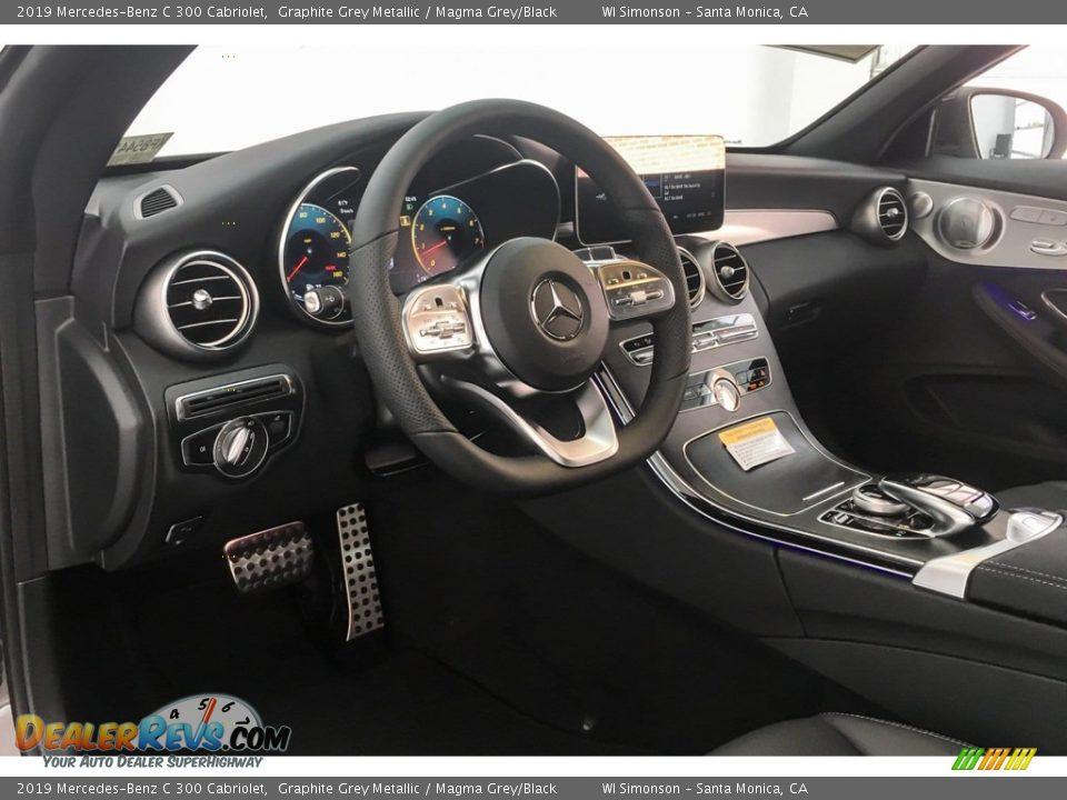 2019 Mercedes-Benz C 300 Cabriolet Graphite Grey Metallic / Magma Grey/Black Photo #4