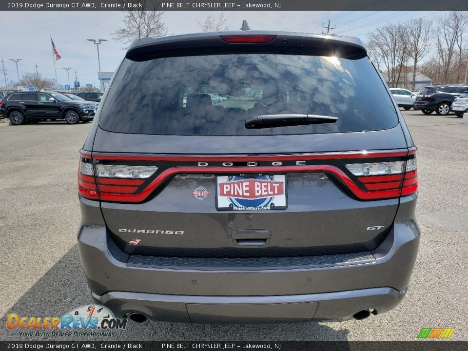 2019 Dodge Durango GT AWD Granite / Black Photo #5