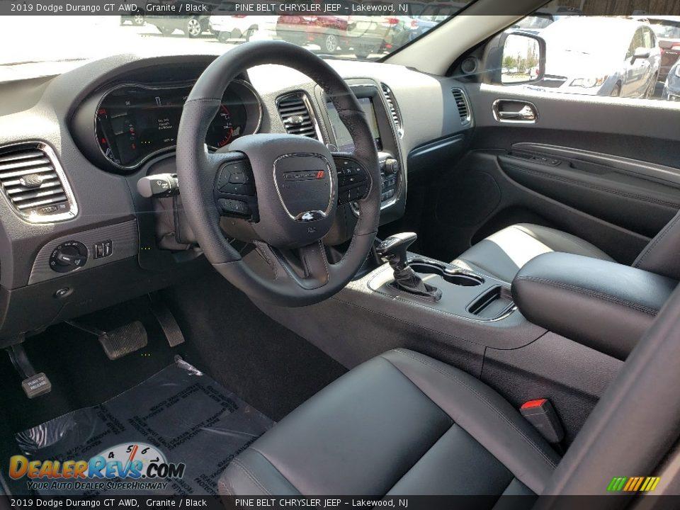 2019 Dodge Durango GT AWD Granite / Black Photo #7