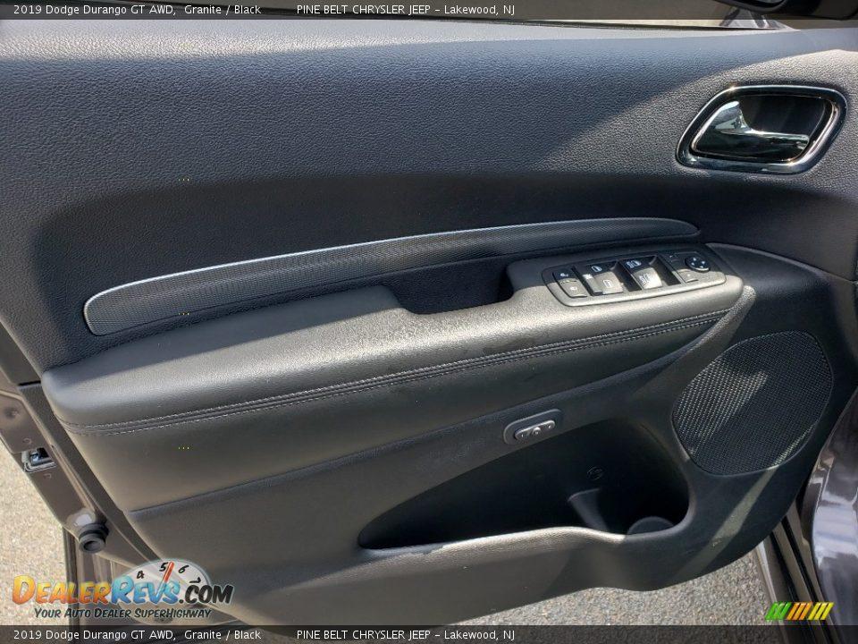 2019 Dodge Durango GT AWD Granite / Black Photo #8