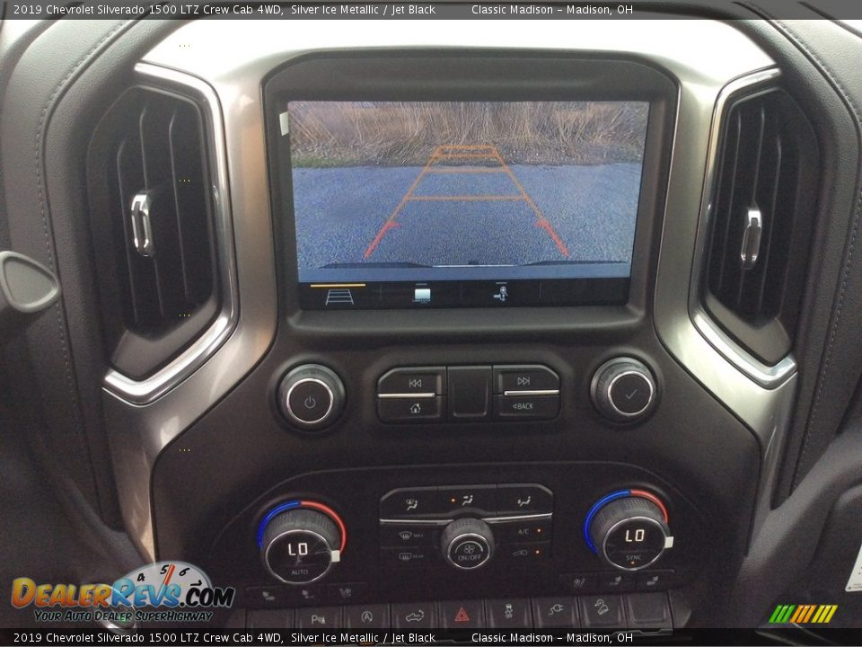 2019 Chevrolet Silverado 1500 LTZ Crew Cab 4WD Silver Ice Metallic / Jet Black Photo #21