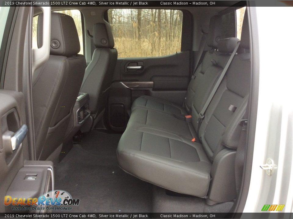 2019 Chevrolet Silverado 1500 LTZ Crew Cab 4WD Silver Ice Metallic / Jet Black Photo #22