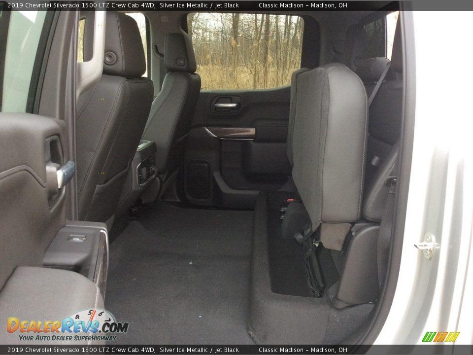 2019 Chevrolet Silverado 1500 LTZ Crew Cab 4WD Silver Ice Metallic / Jet Black Photo #23