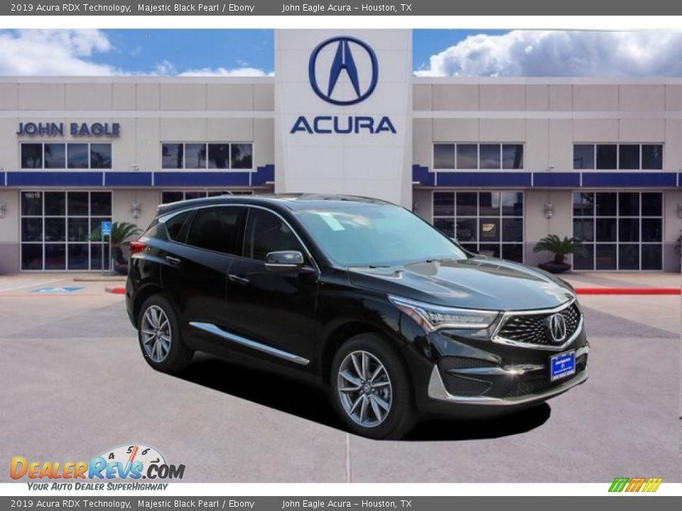 2019 Acura RDX Technology Majestic Black Pearl / Ebony Photo #1