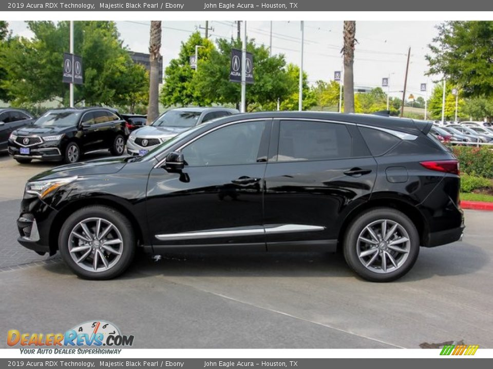 2019 Acura RDX Technology Majestic Black Pearl / Ebony Photo #4