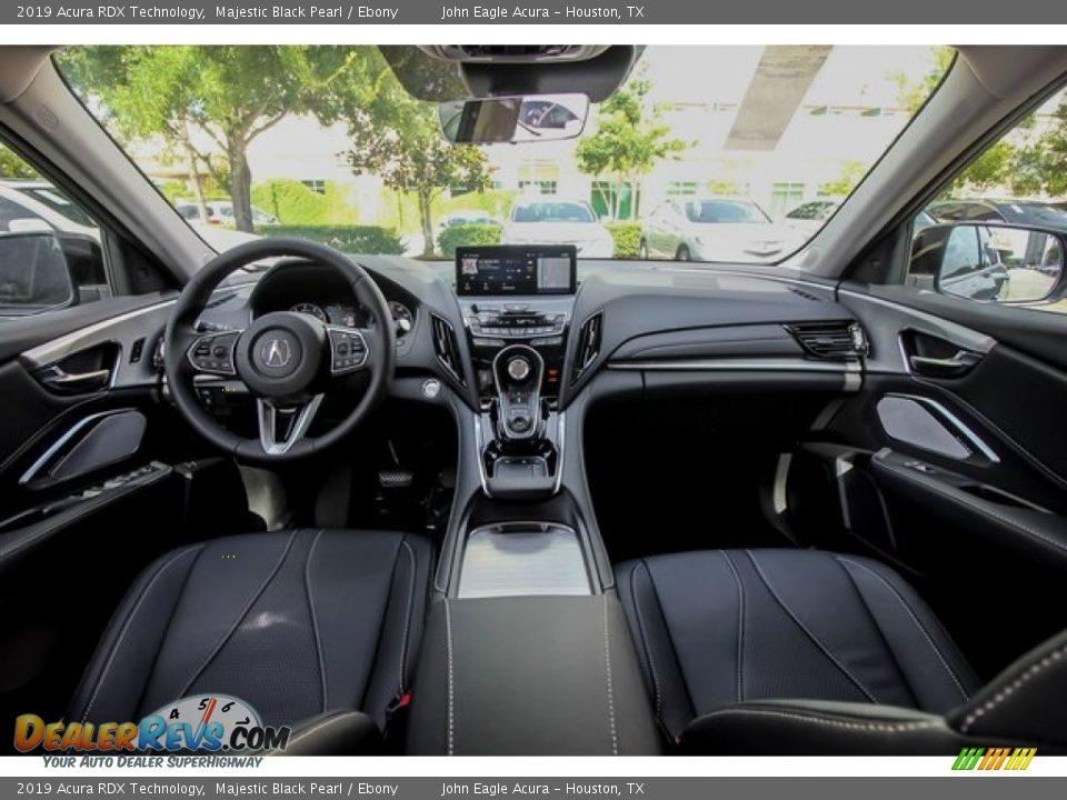 2019 Acura RDX Technology Majestic Black Pearl / Ebony Photo #9