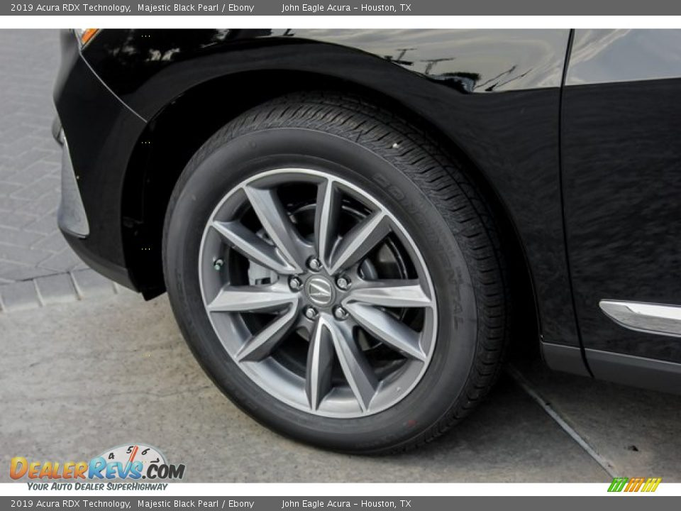 2019 Acura RDX Technology Majestic Black Pearl / Ebony Photo #11