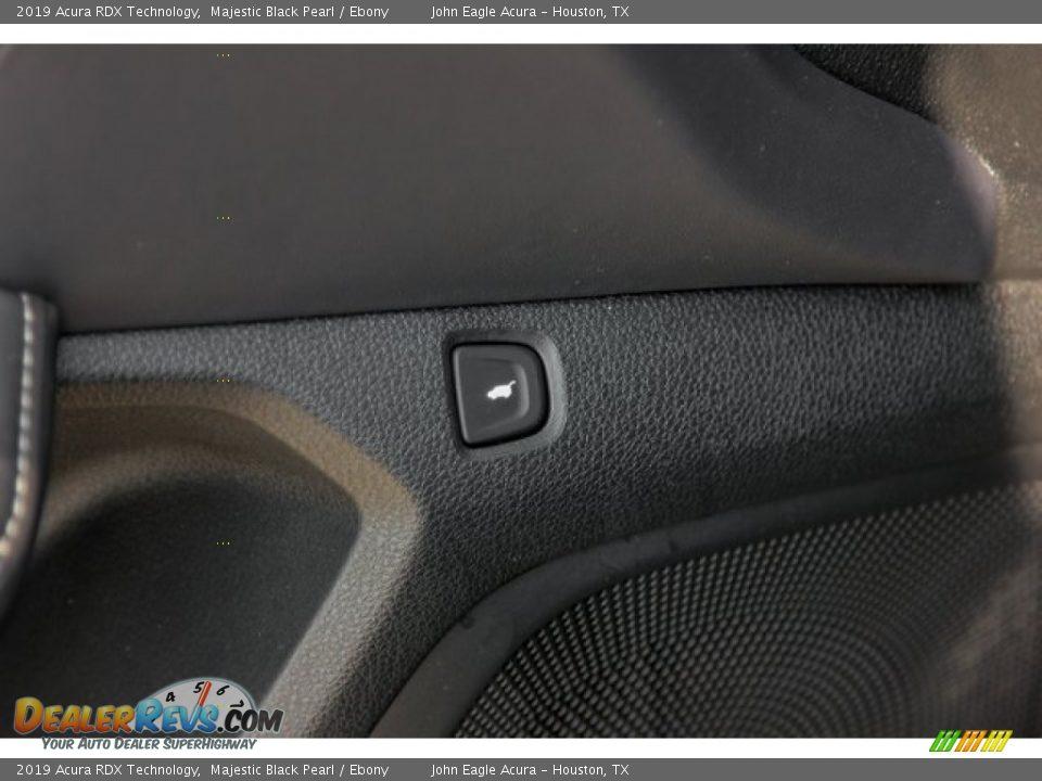 2019 Acura RDX Technology Majestic Black Pearl / Ebony Photo #15