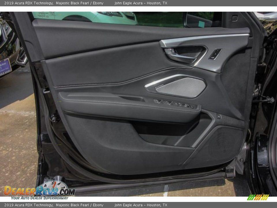 2019 Acura RDX Technology Majestic Black Pearl / Ebony Photo #17