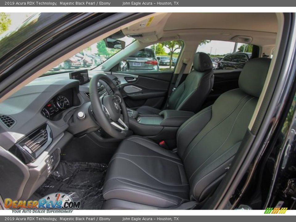 2019 Acura RDX Technology Majestic Black Pearl / Ebony Photo #18