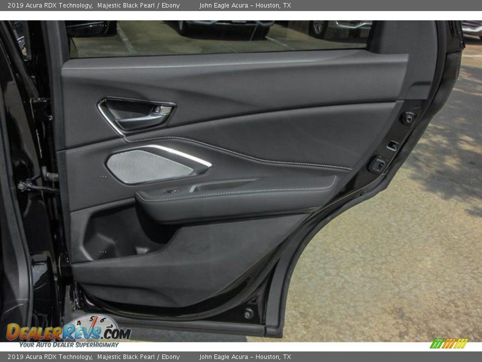 2019 Acura RDX Technology Majestic Black Pearl / Ebony Photo #23