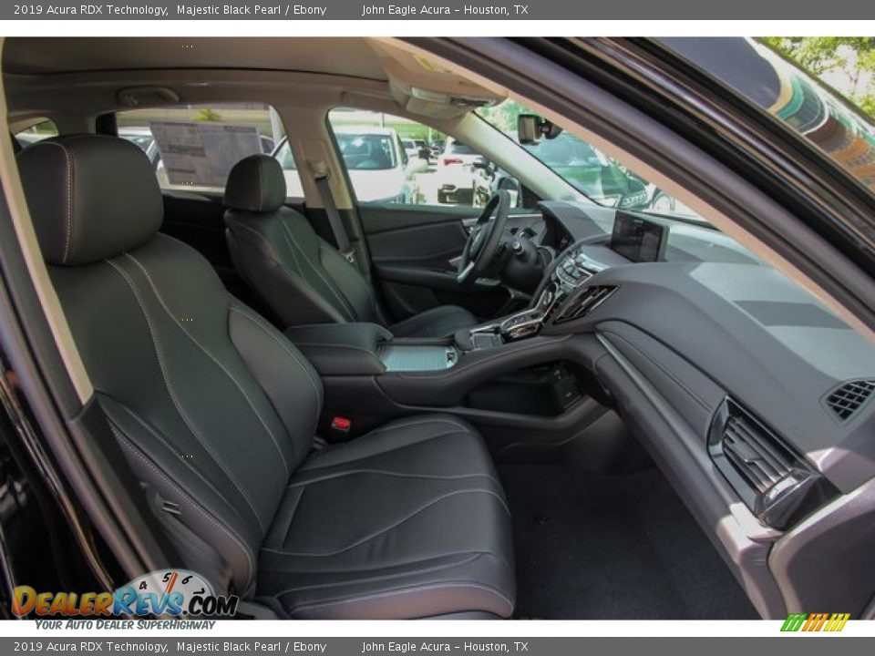 2019 Acura RDX Technology Majestic Black Pearl / Ebony Photo #26