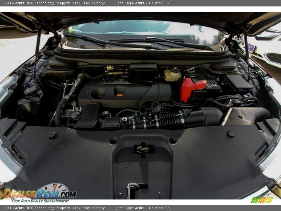 2019 Acura RDX Technology Majestic Black Pearl / Ebony Photo #27