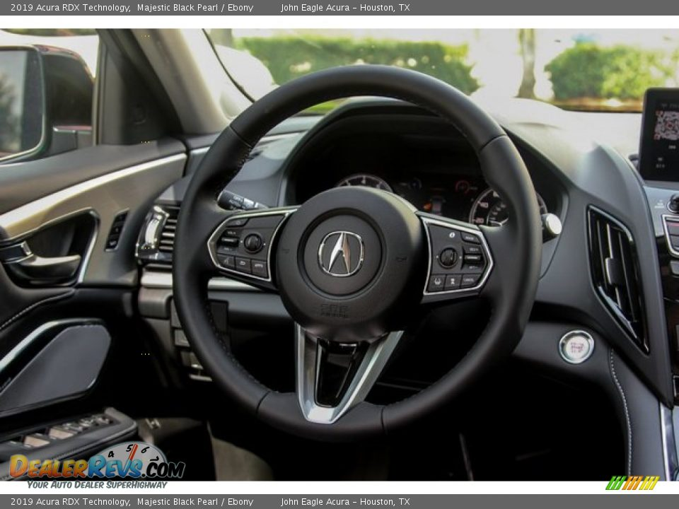 2019 Acura RDX Technology Majestic Black Pearl / Ebony Photo #29
