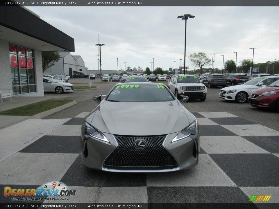 2019 Lexus LC 500 Nightfall Mica / Black Photo #2