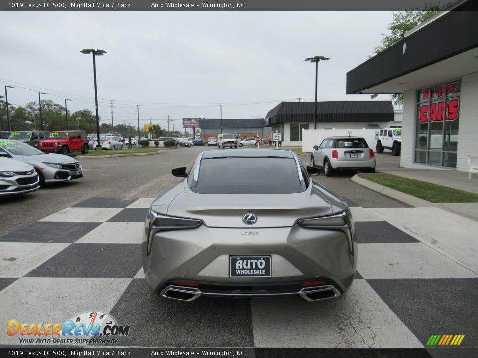 2019 Lexus LC 500 Nightfall Mica / Black Photo #4